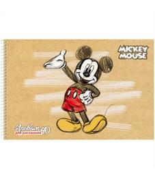 """Фото 4. Альбом для рисования 40л., А4, на спирали Hatber """"Disney. Микки Маус"""", с перфорацией на отрыв"""