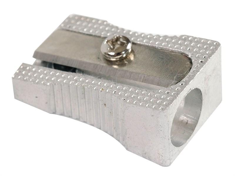 Алюминиевая точилка Erich Krause Ferro на одно отверстие