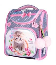"Ранец с наполнением Berlingo Ultra Compact ""Lovely kitten"" 35*30*15см, 1отд.,3карм.,анатомич. спинка"