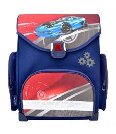 Ранец школьный ACTION! by TIGER Спортивная машина синий-красный