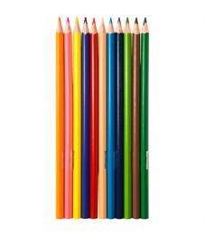 """Фото 2. Карандаши цветные Berlingo """"Жил-был кот"""", 12цв., трехгран., заточен., картон, европодвес"""