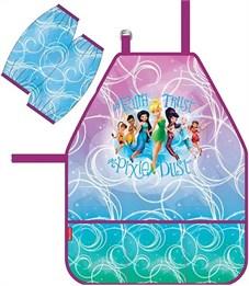Фартук для детского творчества Erich Krause Феи Disney: Цветочная вечеринка с нарукавниками