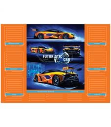 """Фото 3. Расписание уроков с расписанием звонков А4 ArtSpace, """"Sport car"""""""