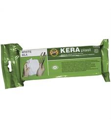 """Масса для лепки керамическая Koh-I-Noor """"KERAplast"""", белая, 1кг, вакуумный пакет, европодвес"""