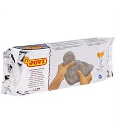 Фото 1. Паста для моделирования JOVI, отвердевающая, серый, 1кг, вакуумный пакет