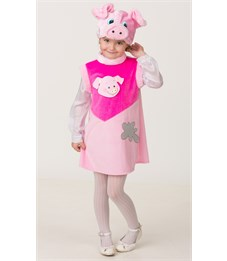 Карнавальный костюм Батик Свинка Роза