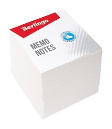 """Блок для записи Berlingo """"Standard"""", 9*9*9см, белый"""