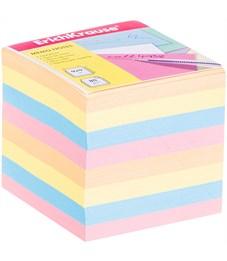 Блок для записи Erich Krause, 9*9*9см, цветной
