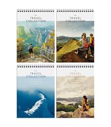 "Блокнот А5 80л. на гребне ArtSpace ""Путешествия. Travel collection"", глянц. лам., твердая обложка"