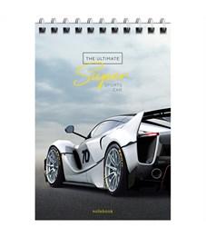 "Фото 4. Блокнот А6 40л. на гребне ArtSpace ""Авто. Ultimate super cars"""