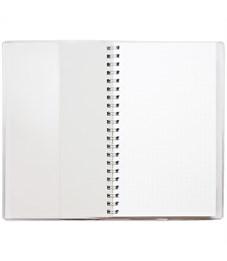 """Фото 2. Блокнот А6 48л. на гребне ДПС """"Снегири"""", ПВХ, с шариковой ручкой"""
