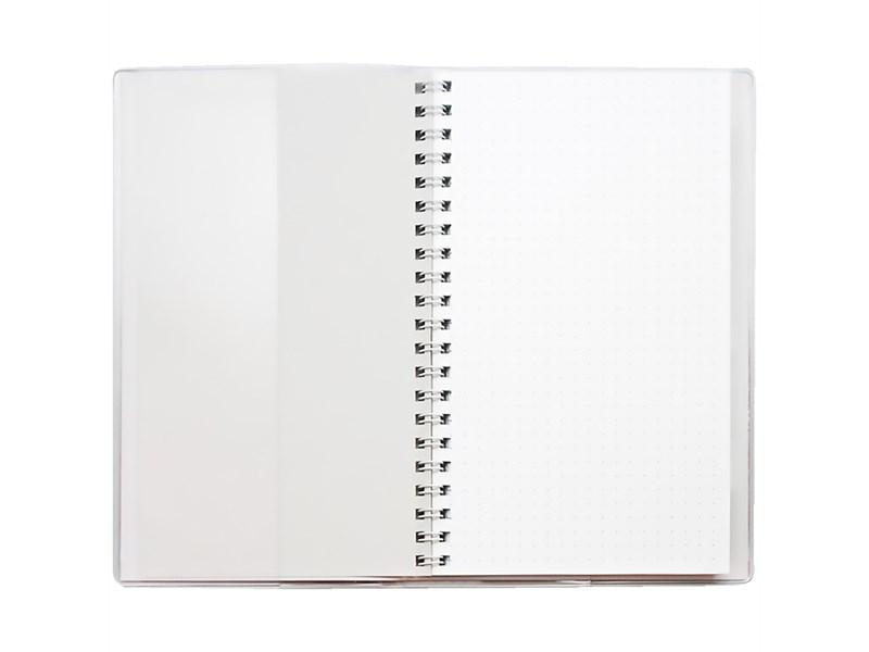 """Блокнот А6 48л. на гребне ДПС """"Сова"""", ПВХ, с шариковой ручкой"""