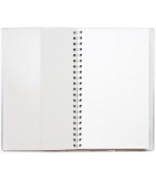 "Фото 2. Блокнот А6 48л. на гребне ДПС ""Сова"", ПВХ, с шариковой ручкой"