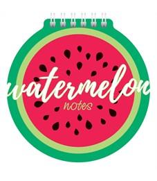 """Блокнот А6 60л. на гребне Hatber """"Watermelon"""", с фигурной высечкой"""