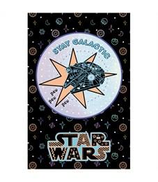 """Фото 3. Блокнот А7 48л. на склейке Hatber """"Lucas star wars. Звездные войны"""", 3-х цветный блок"""