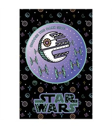 """Фото 5. Блокнот А7 48л. на склейке Hatber """"Lucas star wars. Звездные войны"""", 3-х цветный блок"""