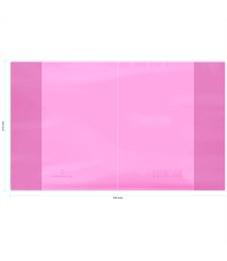 """Обложка  210*350, для дневников и тетрадей, Greenwich Line, ПВХ 180мкм, """"Neon Star"""", розовый, ШК"""