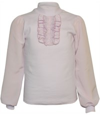 Блуза школьная Инфанта 0613/2 сиреневая