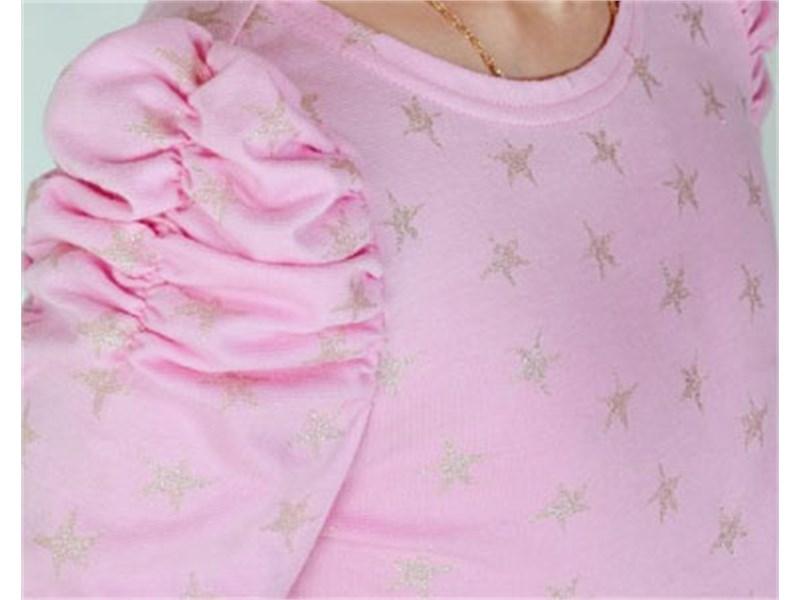 Блуза школьная Инфанта 0667, розовая