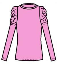 Фото 2. Блуза школьная Инфанта 0667, розовая
