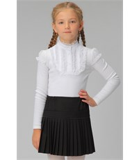 Блуза школьная Инфанта белая