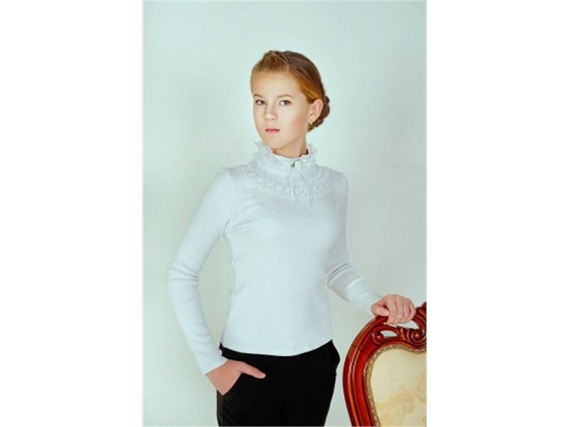 Блуза школьная Инфанта белая 0661
