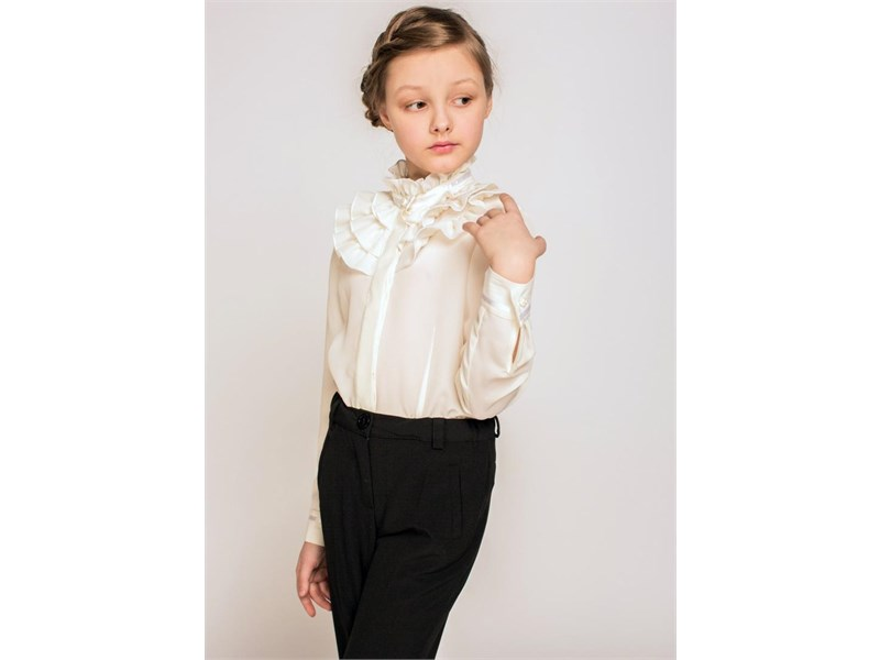 Блуза школьная Инфанта модель 0640 белая