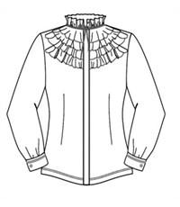 Фото 4. Блуза школьная Инфанта модель 0640 белая