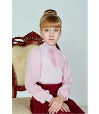 Фото 1. Блуза школьная Инфанта розовый 0613/2