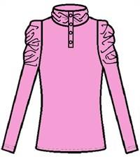 Фото 2. Блуза школьная Инфанта розовый 0670