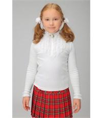 Фото 1. Блуза школьная Инфанта белая 0608