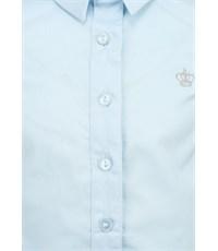 Фото 3. Блузка Acoola с коротким рукавом светло-голубая