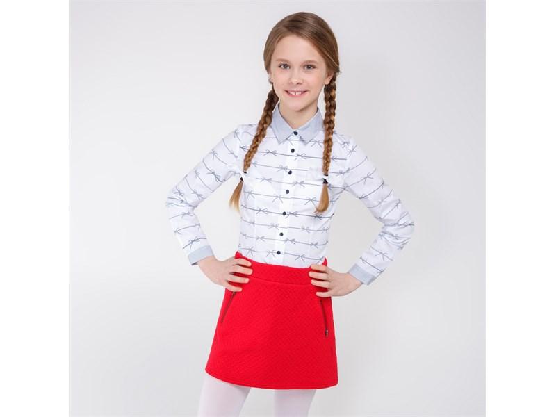 Блузка для девочек Acoola Bohr белый