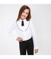 Блузка для девочек Acoola Gess белый
