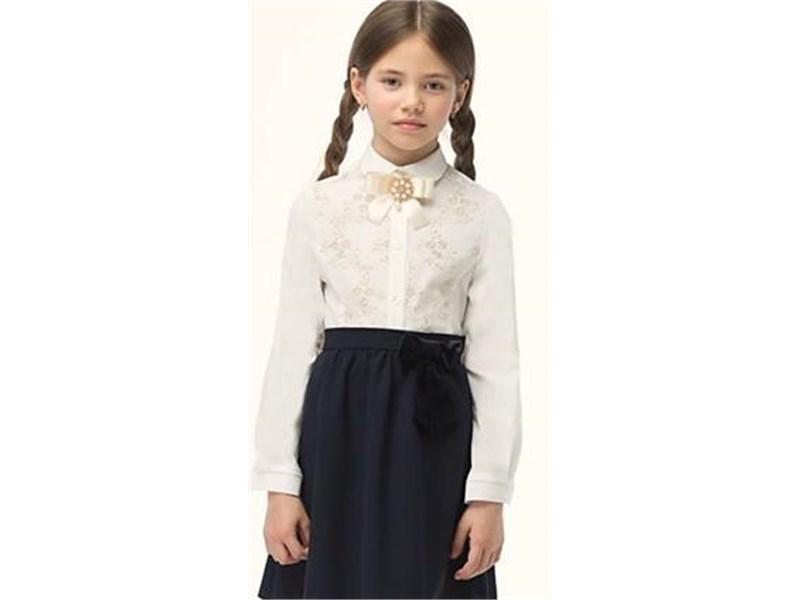 Блузка для девочки Смена 3Б248 молочная