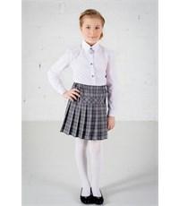 Школьная блузка Инфанта классическая, белая