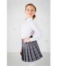 Фото 2. Школьная блузка Инфанта классическая, белая