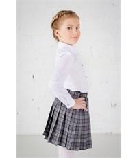 Фото 3. Школьная блузка Инфанта классическая, белая