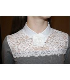 Фото 4. Блузка школьная Mattiel D072-119 серый меланж