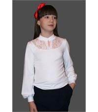 Блузка школьная Mattiel D060-105В белая
