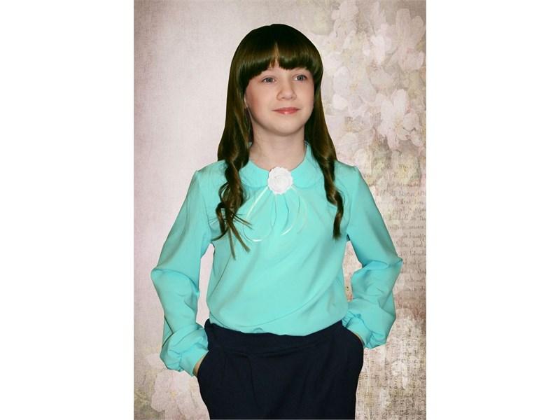 Блузка нарядная для девочек Mattiel D001-142