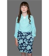 Фото 4. Блузка нарядная для девочек Mattiel D001-142