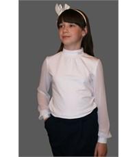 Фото 2. Блузка школьная для девочек Mattiel D063-48