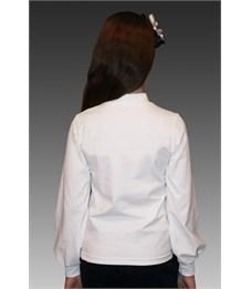 Фото 2. Блузка школьная Mattiel D045-111 белый