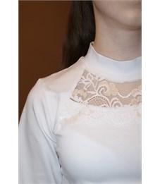 Фото 3. Блузка школьная Mattiel D045-111 белый