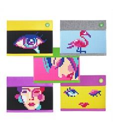 """Набор маленьких пиксельных фишек """"Собери любую из 5 картинок"""" T-S04 разноцветные, 480 шт."""