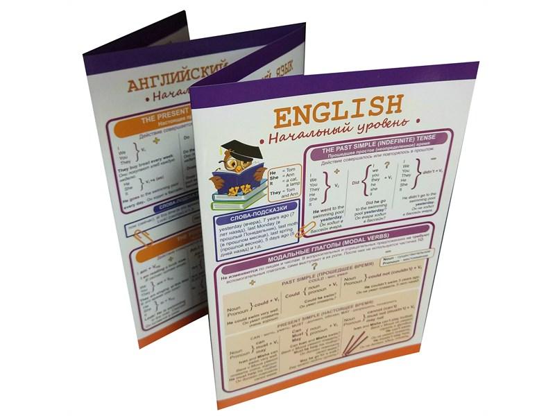 Буклет Английский язык: Начальный уровень