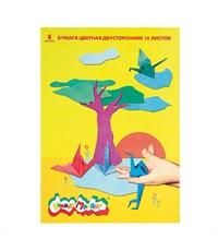 Бумага цветная двухсторонняя Каляка-Маляка 16л./8цв., А4