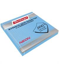 Бумага для заметок Berlingo NEON Голубая 100 л.