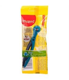 """Циркуль Maped """"Essentials"""" пластиковый, 120мм, безопасная игла, пакет"""